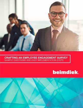 crafting employee engagement survey cover