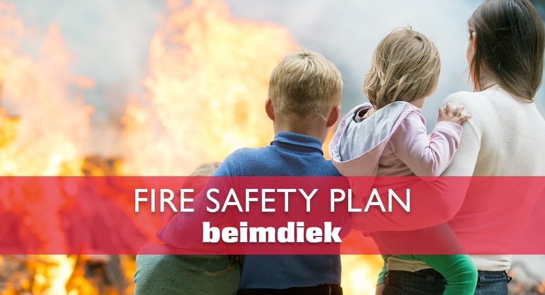 Family Safety: Create a Fire Safety Plan